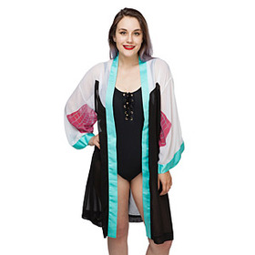 Spider-Gwen Chiffon Cover-Up Robe