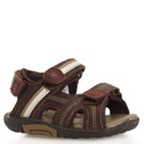 Toddler Boy Leather Strap Sandals