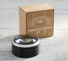 The Guiding Light Magnifying Glass & Paperweight