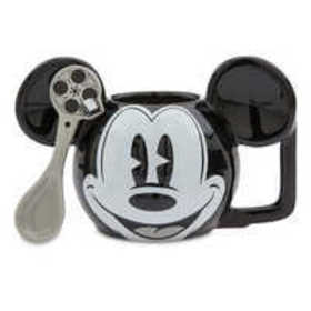 Mickey Mouse Mug and Spoon Set