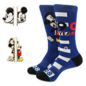 Mickey Mouse 90th Anniversary Socks and Pins Box S