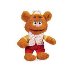 Fozzie Bear Plush - Muppet Babies - Small