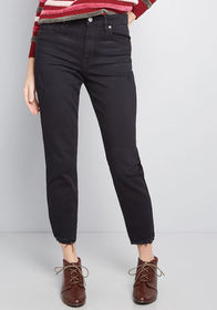Distress to Impress Relaxed Jeans Black