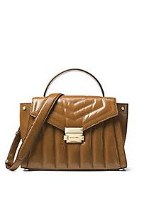 MICHAEL Michael Kors Medium Whitney Leather Quilte