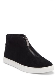 Kenneth Cole New York Kayla Front Zip Suede Sneake