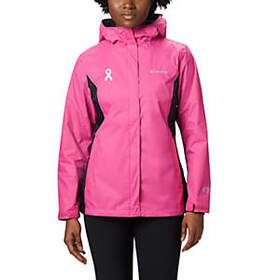 Columbia Women's Tested Tough in Pink™ Rain Jacket