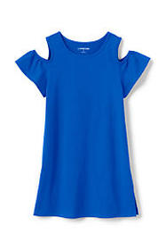 Girls Cold Shoulder Tunic Top