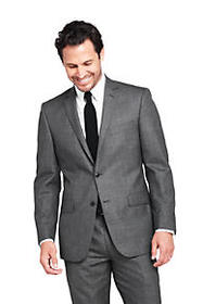 Men's Pattern Traditional Fit Year'rounder Suit Ja