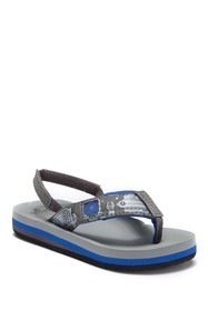 Reef Ahi Light Up Prints Sandal (Toddler & Little