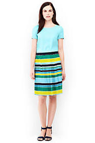 Women's Woven Pleated Skirt