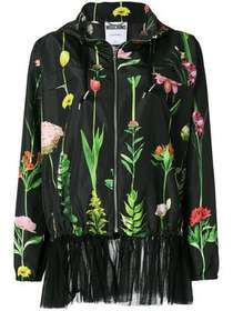 Moschino floral print bomber jacket