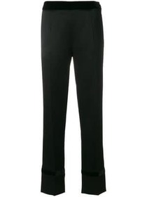 Lanvin high-waisted straight leg trousers