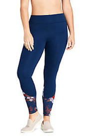 Women's Plus Size Active High Waisted Yoga Legging