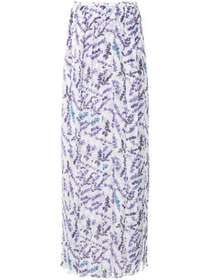 Max Mara printed long skirt
