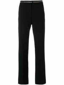 Moschino embellished waistband trousers