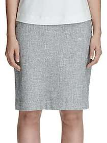 Tommy Hilfiger Tweed Pencil Skirt MIDNIGHT IVORY