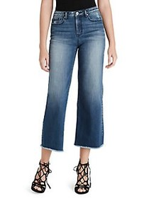 Jessica Simpson Adored High Rise Wide Crop Jeans I