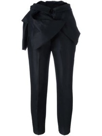 Dsquared2 ruffle detail tailored trousers