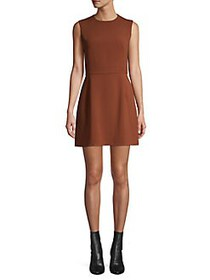 French Connection Sleeveless A-Line Mini Dress BLA