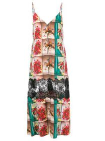 Stella McCartney floral print maxi dress