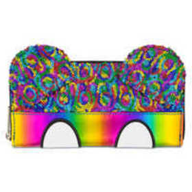 Mickey Mouse Rainbow Wallet by Loungefly