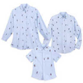 Mickey Mouse Button-Down Shirt Collection for Fami