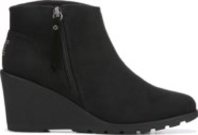 Skechers Women's Bobs Tumble Weed Wedge Bootie