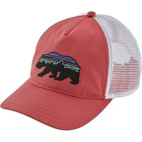 Patagonia Fitz Roy Bear Layback Trucker Hat - Wome