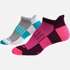 Brooks Ghost Mid-Weight Running Sock - 2-Pack - Wo