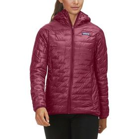 Patagonia Micro Puff Hooded Insulated Jacket - Wom
