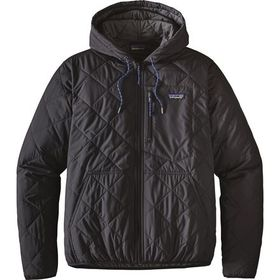 Patagonia Diamond Quilted Bomber Hooded Jacket - M
