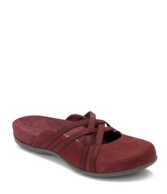 Vionic Claire Suede Banded Mules