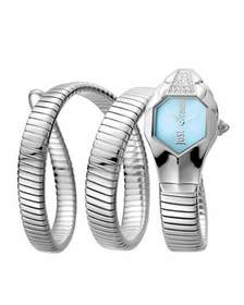 Just Cavalli 22mm Glam Chic Coil Bracelet Watch Si