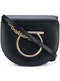 Salvatore Ferragamo Gancini Flap shoulder bag