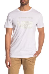 G-STAR RAW Graphic Logo Print Organic Cotton T-Shi