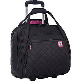 Quilted Rolling Underseat Tote- EXCLUSIVE