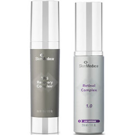 SkinMedica Retinol Complex 1.0 and TNS Recovery Co