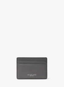 michael kors mens Harrison Leather Card Case