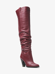 michael michael kors Divia Nappa Leather Boot