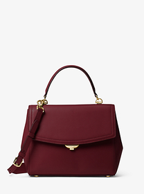 michael michael kors Ava Medium Leather Satchel