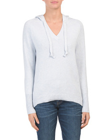 ASPEN Hooded Sweater With Thumbholes