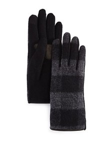 Echo - Buffalo Plaid Tech Gloves