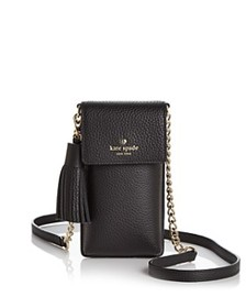 kate spade new york - North/South Pebbled Leather