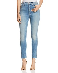 MOTHER - The Swooner Ankle Slice Skinny Jeans in L