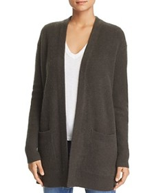 C by Bloomingdale's - Pocket Cashmere Cardigan - 1