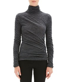 Theory - Draped Turtleneck Top