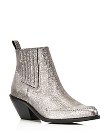 Kenneth Cole - Women's Rory Crackled Metallic Leat