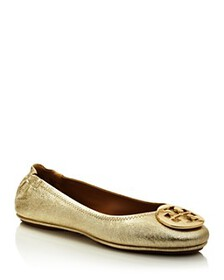 Tory Burch - Women's Minnie Leather Travel Ballet
