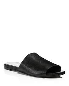 Charles David - Women's Leather Slide Sandals