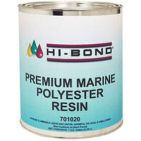 Hi-Bond Premium Marine Polyester Resin, Gallon